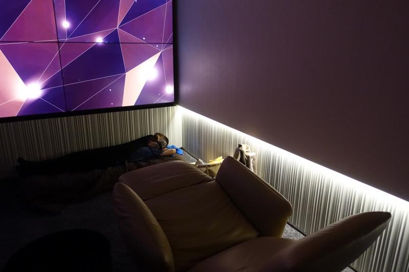 Etihad First Class Lounge Review Abu Dhabi