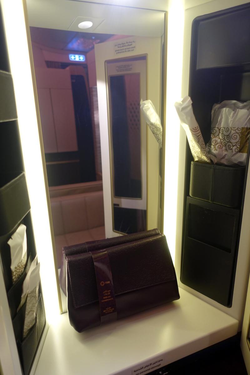 Vanity, Etihad First Apartment