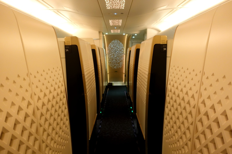 Etihad First Class Apartment, A380