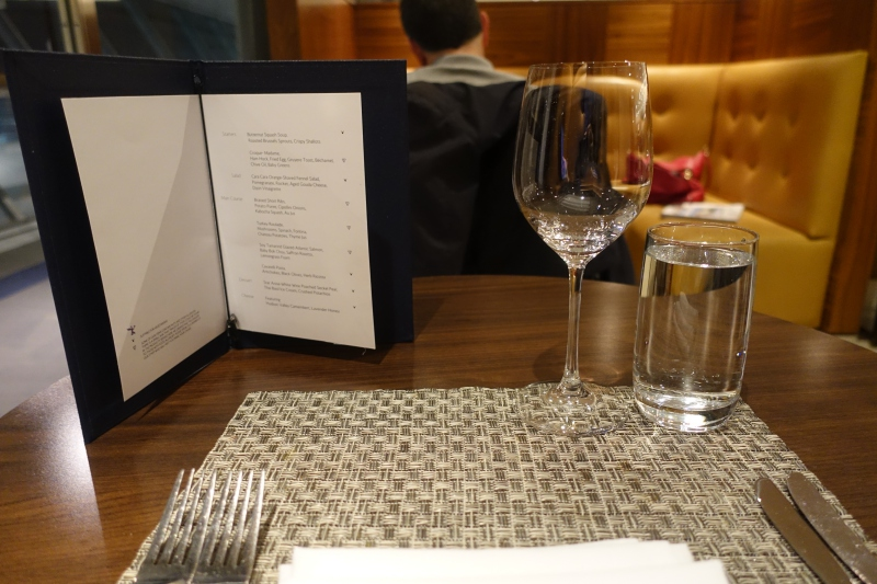 Review: British Airways Concorde Room New York JFK