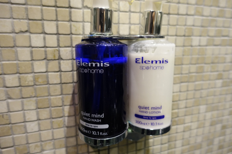 Elemis Hand Wash and Moisturizer, British Airways Concorde Room JFK Review