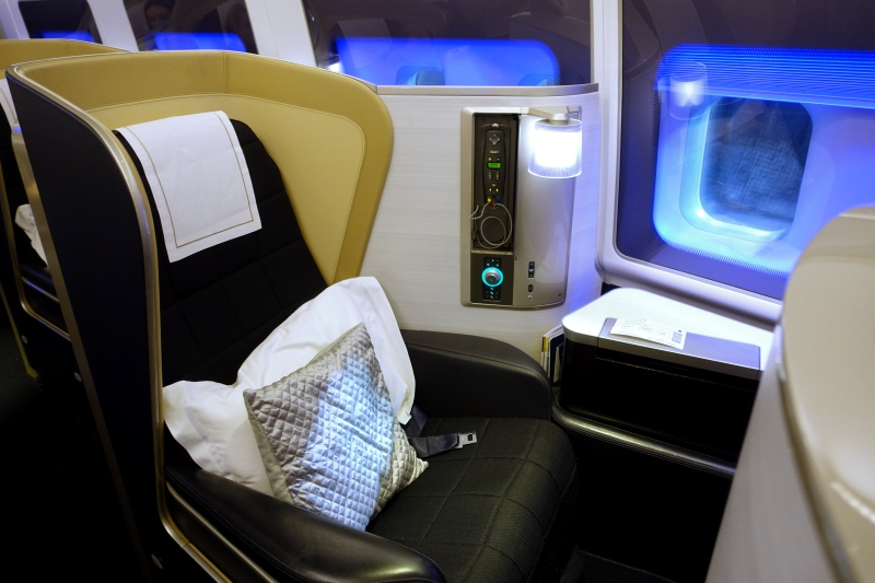 Review: British Airways First Class 747 New York to London ...