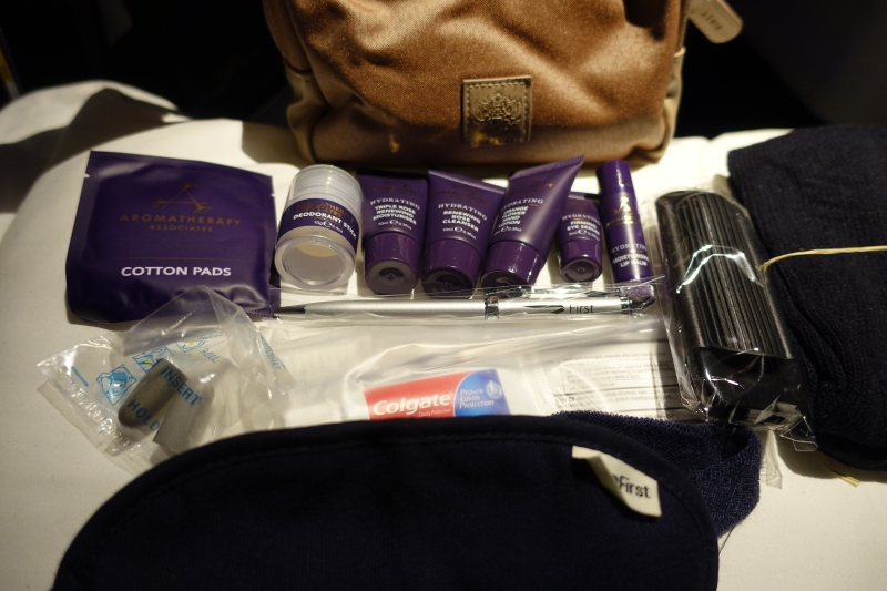 Aromatherapy Associates Amenity Kit, British Airways First Class Review