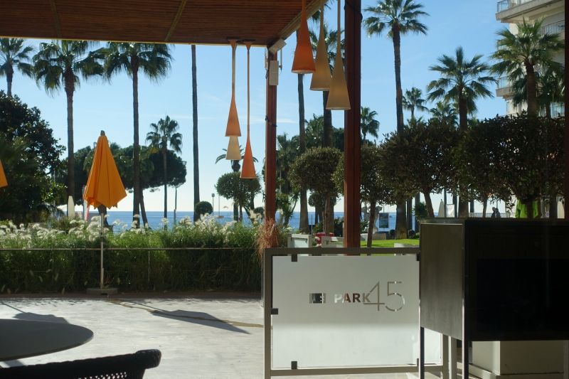 Le Park 45 Restaurant in Cannes, 1 Michelin Star