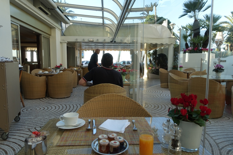 Breakfast at Le Relais, Grand Hyatt Cannes Martinez Review