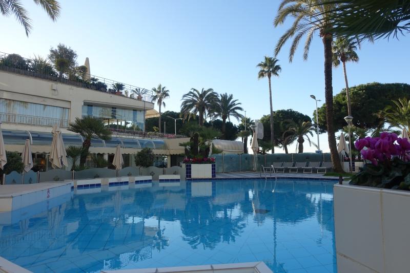 Grand Hyatt Cannes Hotel Martinez Pool Review