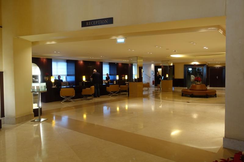 Reception, Grand Hyatt Cannes Hotel Martinez Review