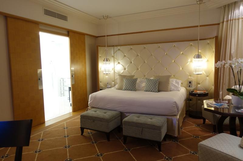 Prestige Suite Bedroom, Grand Hyatt Cannes Martinez Review