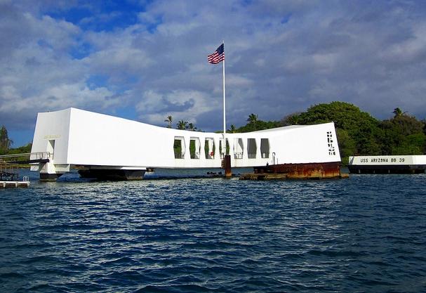 Arizona Memorial, Honolulu, Hawaii