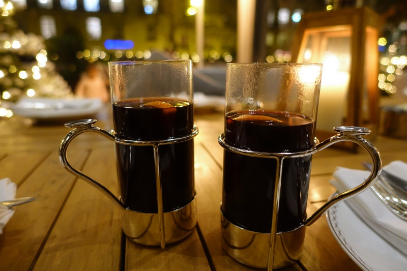 Mulled Wine, The Peninsula Paris Review