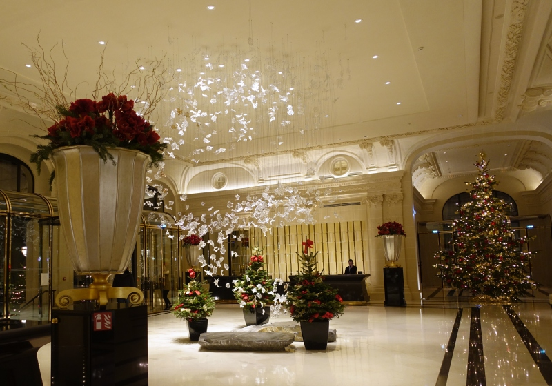 Lobby, The Peninsula Paris Review