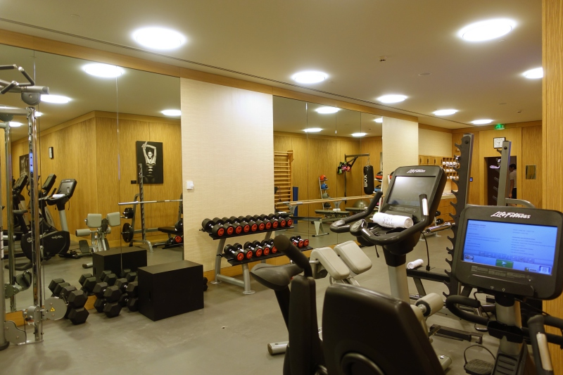 Fitness Center, The Peninsula Paris Review