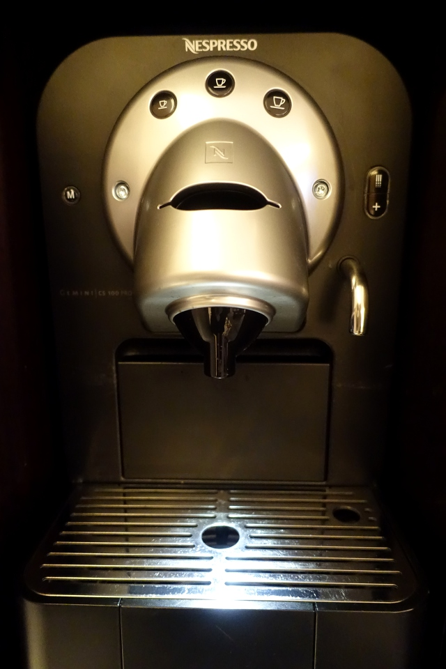 Nespresso Machine, The Peninsula Paris Review