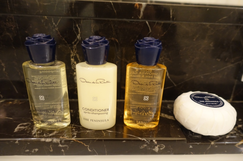 Oscar de la Renta Bath Products, The Peninsula Paris Review
