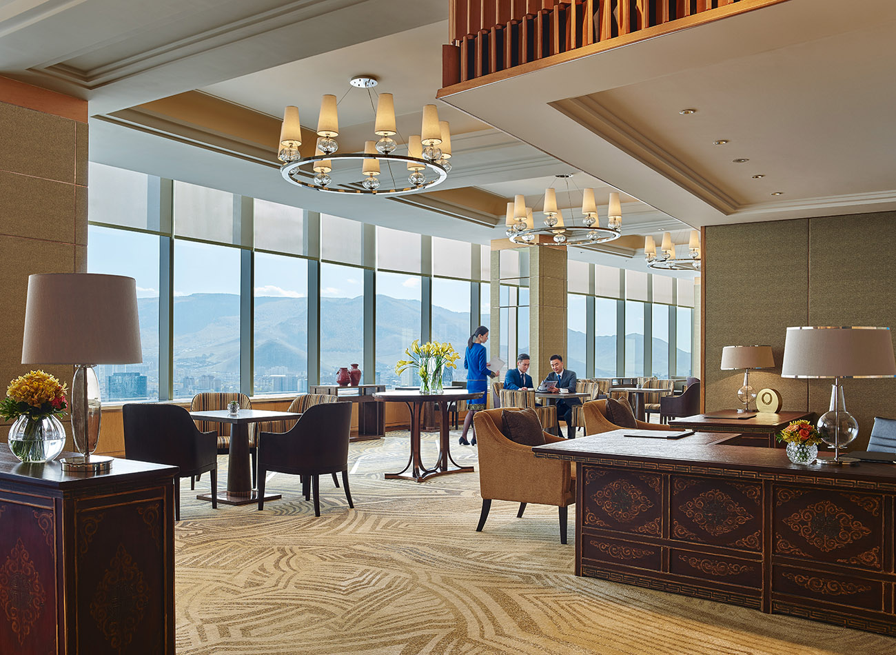 Shangri-La Ulaanbaatar Horizon Club Lounge, Mongolia