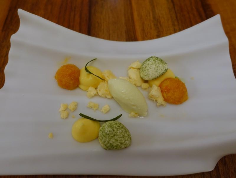 Citrus and Carrot, Restaurant David Toutain Paris Review