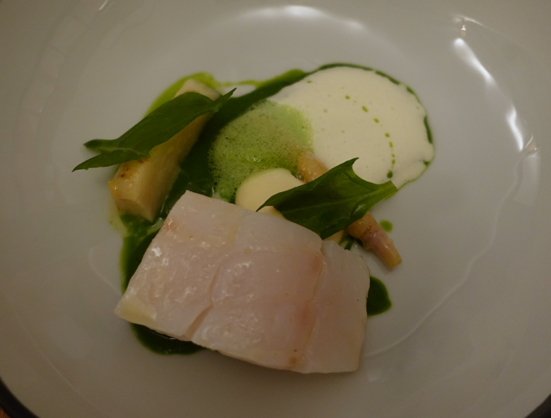 Cod with Parsley Root, David Toutain Paris Review