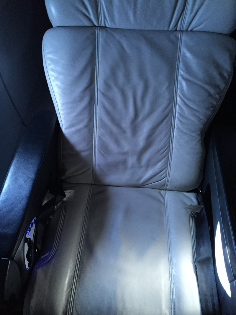 Virgin America First Class Seat Review