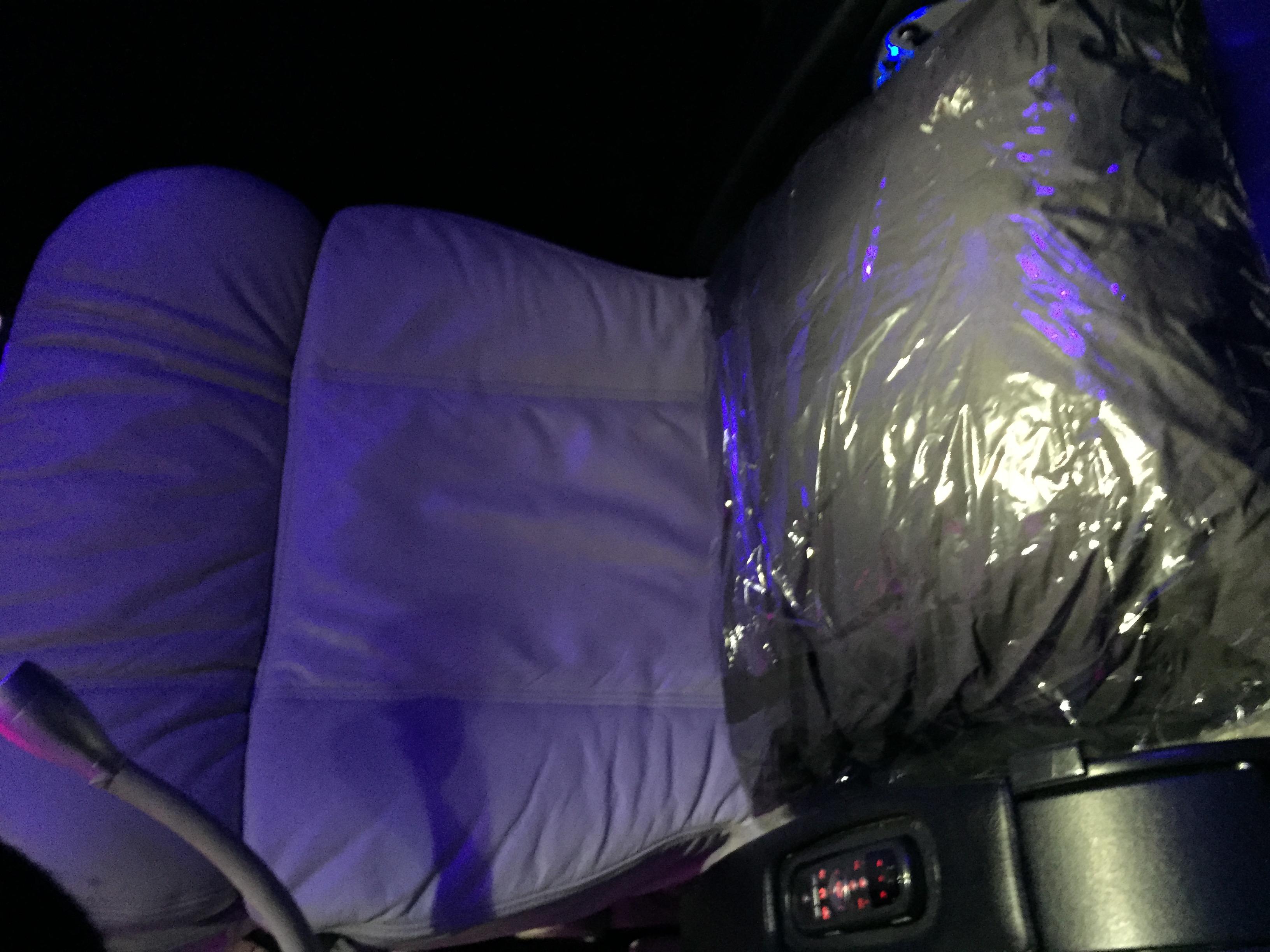 Virgin America First Class Seat Review