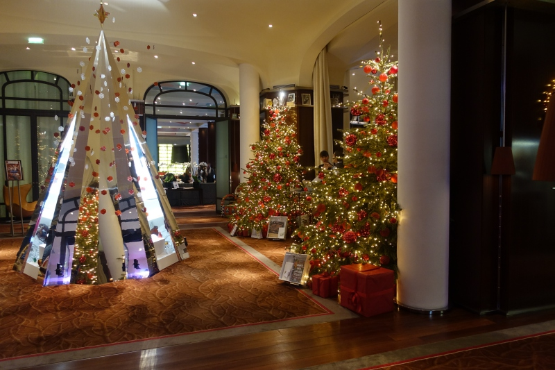 Christmas Tree, Le Royal Monceau-Raffles Paris