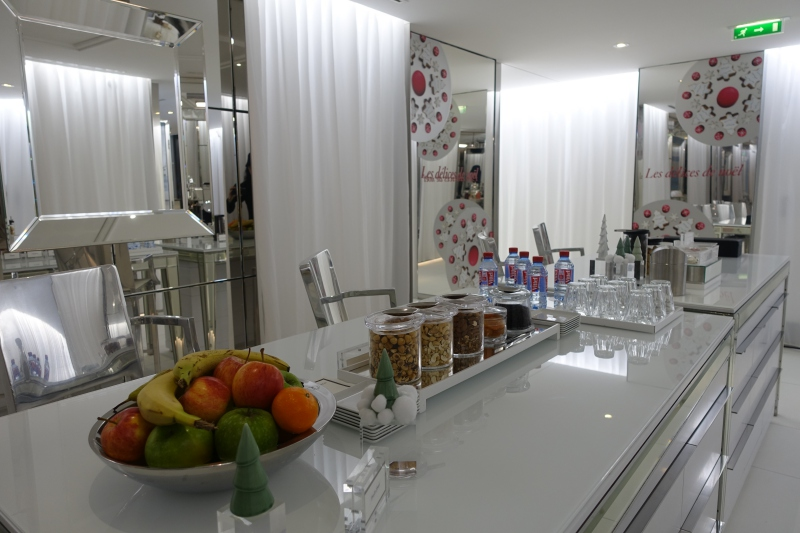 Fresh Fruit and Snacks at the Spa, Le Royal Monceau-Raffles Paris Review