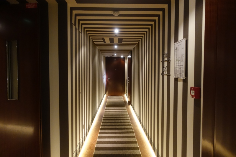 Hallway, Le Royal Monceau-Raffles Paris Review