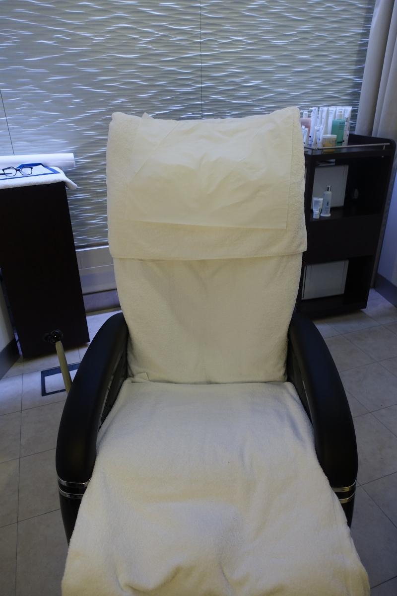 Massage Chair, Elemis Spa Review