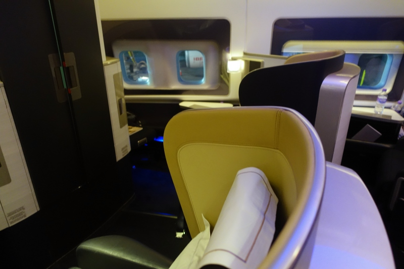 Seat 1A, British Airways First Class 747 Review