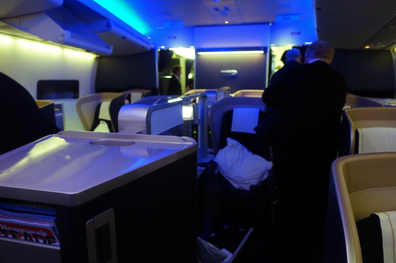 Review: British Airways First Class Cabin, 747