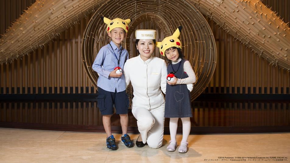 Pokemon Fan? Stay at the Peninsula Tokyo for a Unique Pokemon Experience