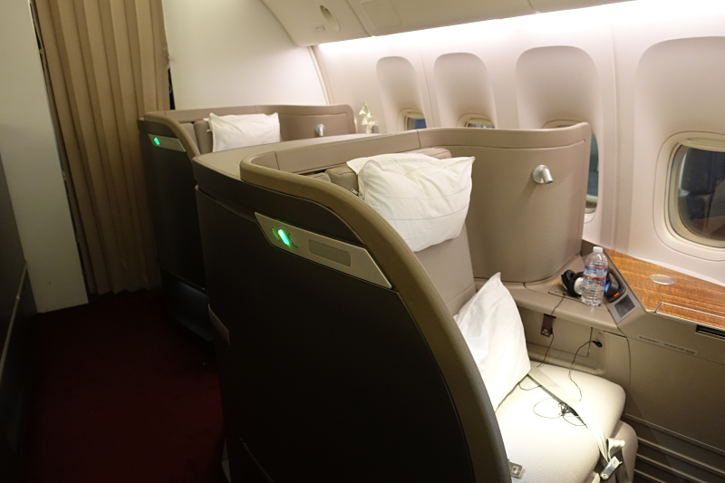 Cathay Pacific First Class: Don't Count On All Unsold Seats Released as Awards