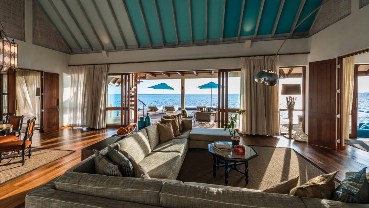 Sunset 2 BR Water Suite, Four Seasons Maldives at Landaa Giraavaru