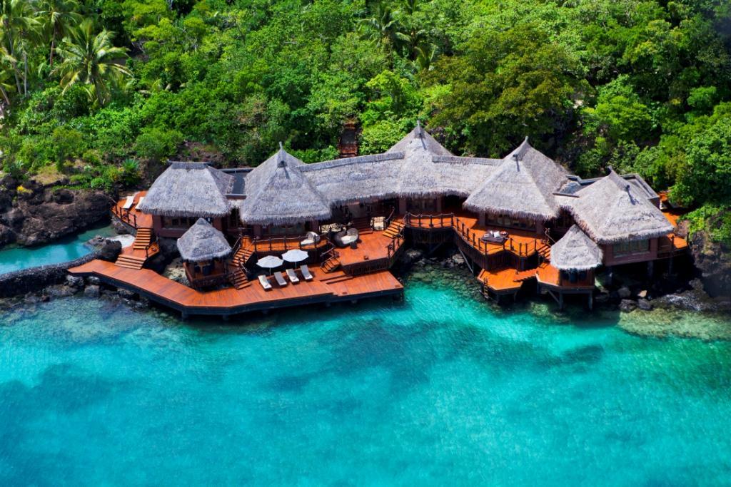 Best Overwater Luxury Villa in the World: Laucala Overwater Villa