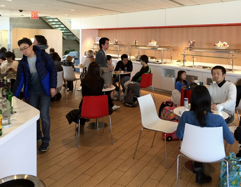 Uncomfortable Seating, Air France Lounge at New York JFK Review