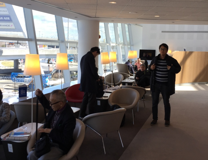 Air France Lounge New York JFK Terminal 1 Review
