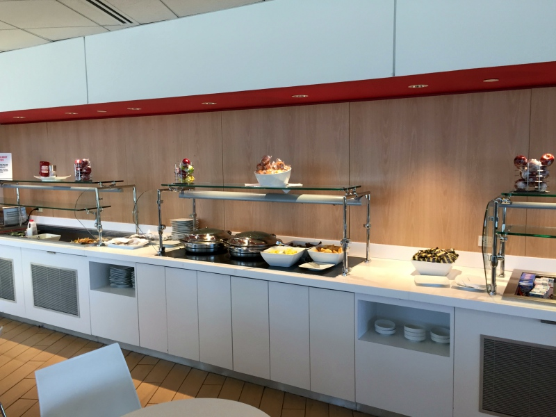 Buffet, Air France Lounge New York JFK Review