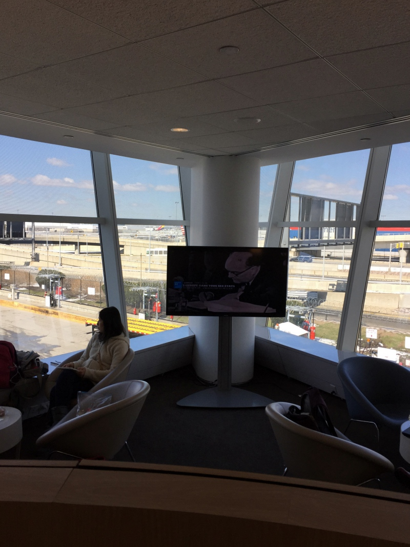 Good Natural Light and Views of Tarmac, Air France Lounge NYC JFK Review