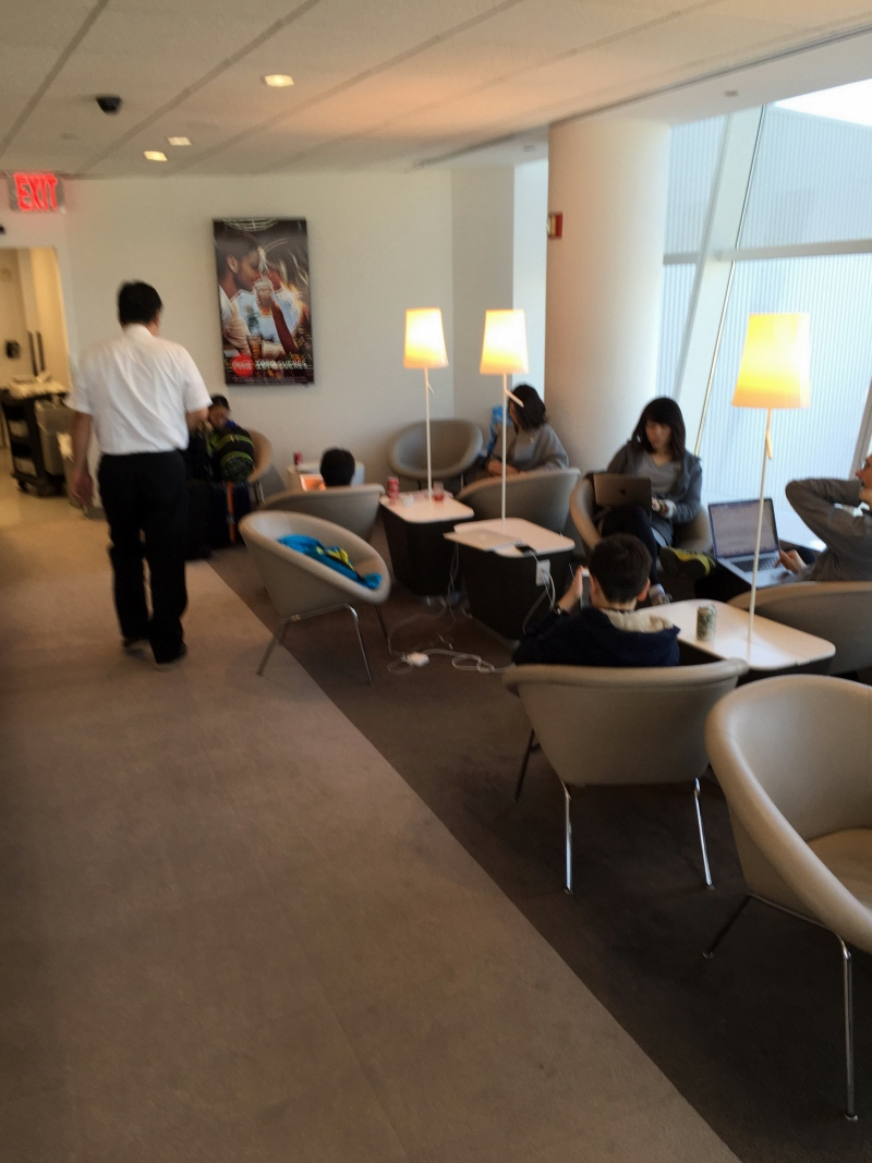 Seating, Air France Lounge New York JFK Review
