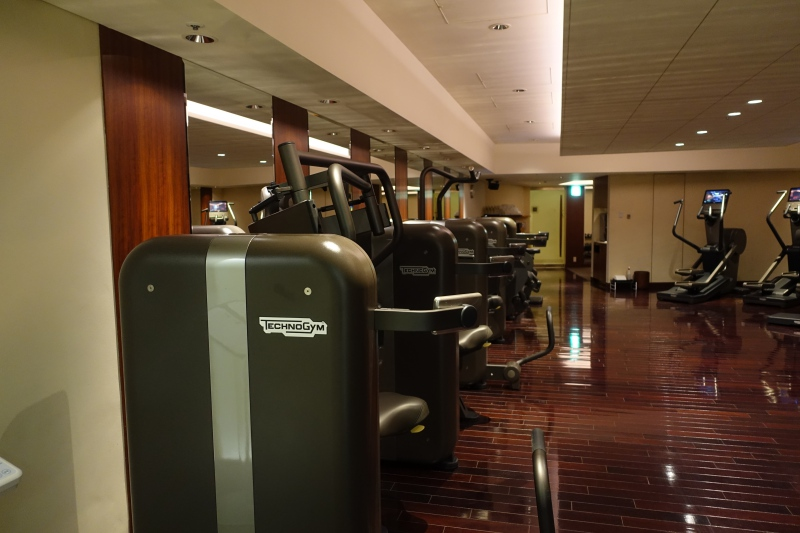 Fitness Center, The Peninsula Tokyo Review