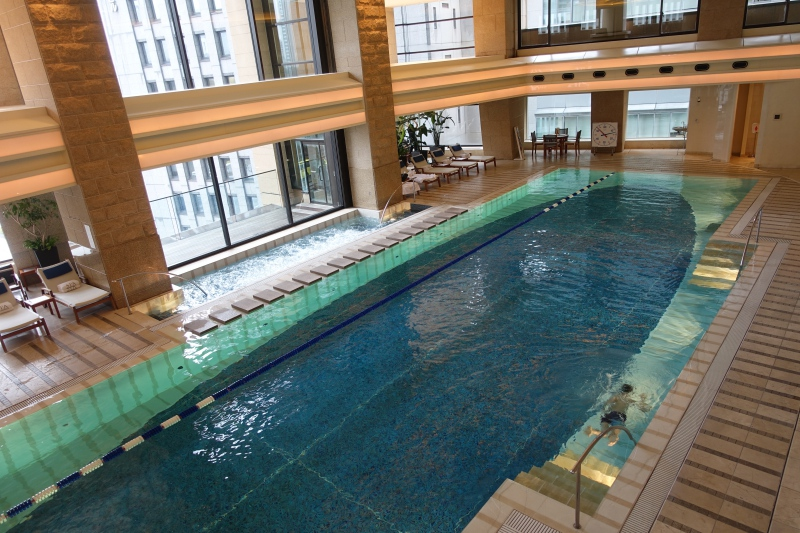 Swimming Pool, The Peninsulat Tokyo Hotel Review 2017