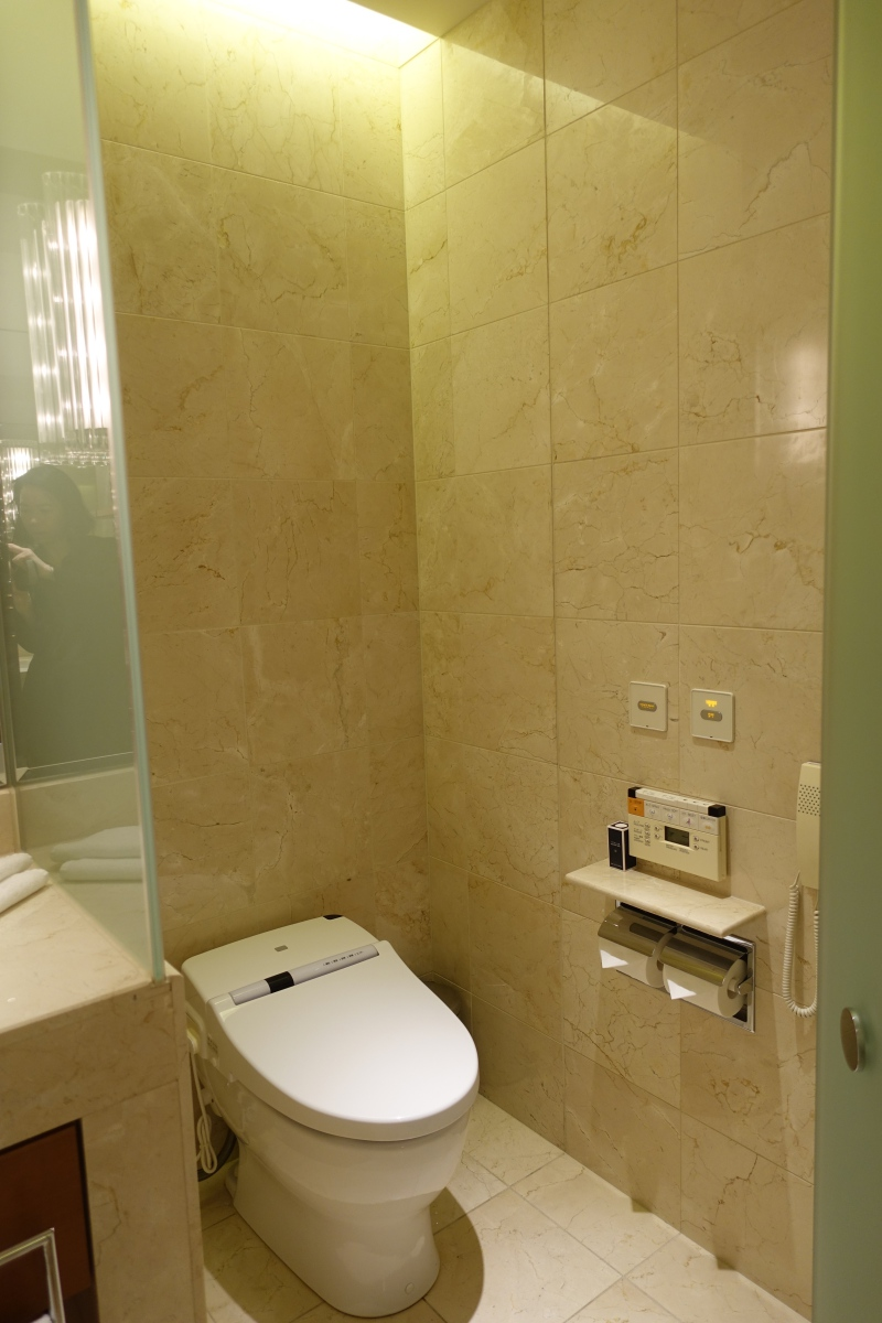 Toto Washlet, The Peninsula Tokyo Hotel Review 2017