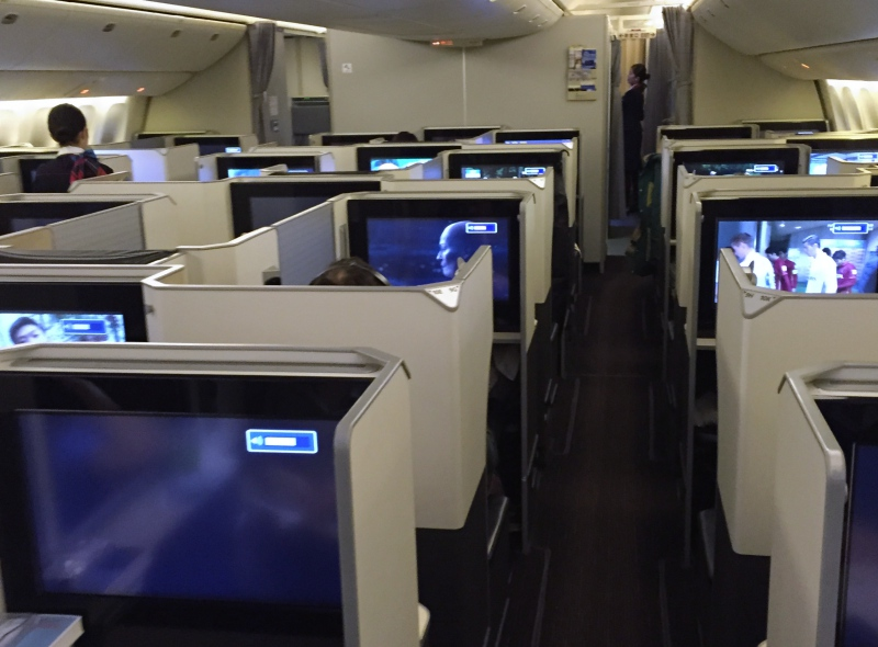 Japan Airlines 777-300ER Business Class Sky Suite Review