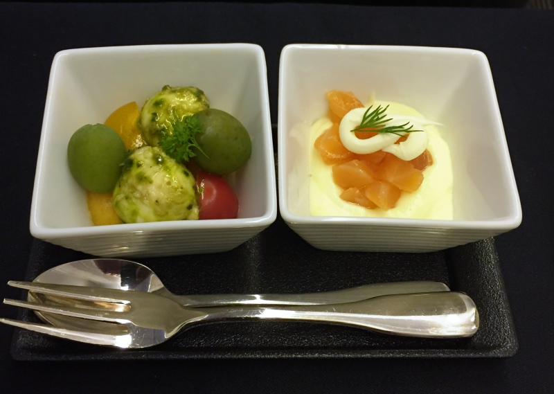 Amuse Bouche, JAL 777-300ER Business Class Review