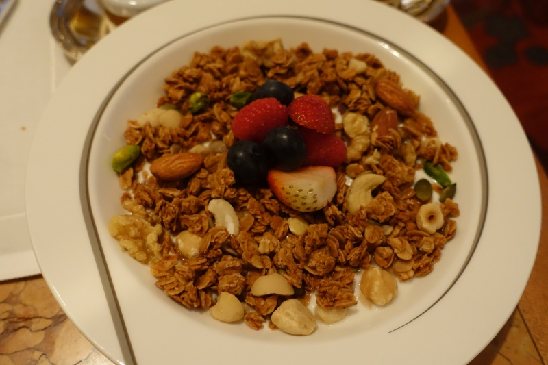 Yogurt with Granola, Breakfast at The Peninsula Tokyo