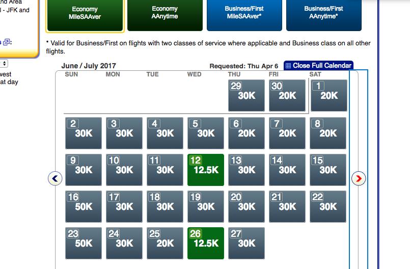 Poor AAdvantage Saver Award Availability Even in Economy for MIA-JFK