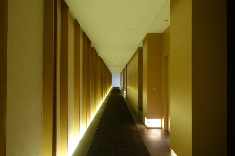 Aman Tokyo Hallway