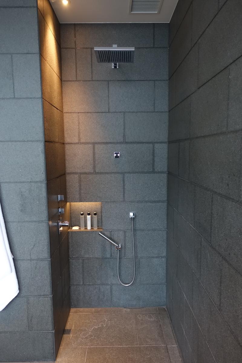 Premier Room Rain Shower, Aman Tokyo Review
