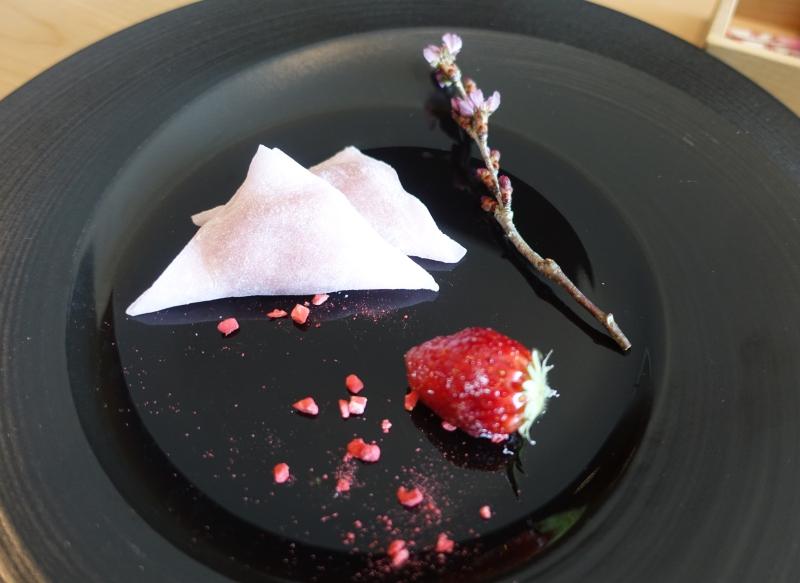 Sakura Mochi Dessert, Sushi Sora