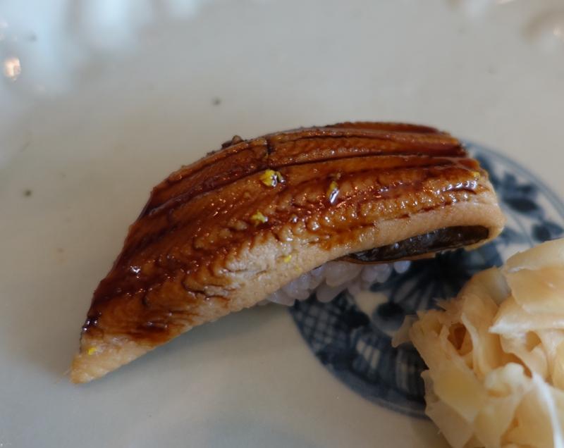 Anago (Saltwater Eel), Sushi Sora Review