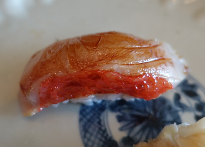 Red Snapper, Sushi Sora Review